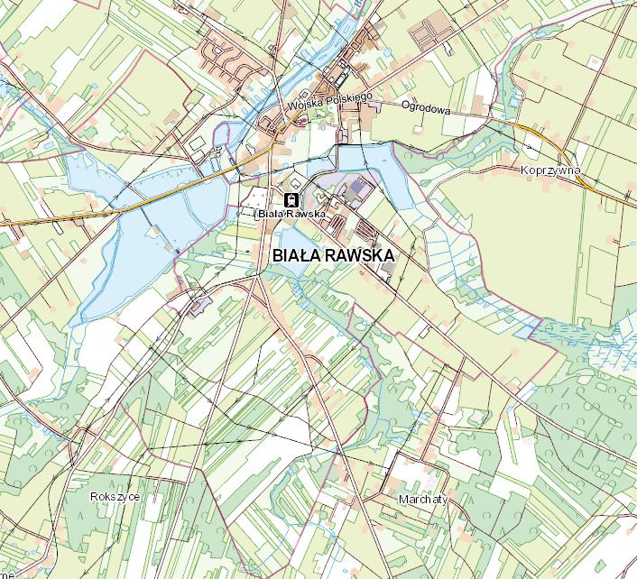 Geoportal Biała Rawska